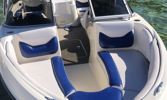 21' Bowrider - Wakeboard Tower with Speakers and Bimini Top