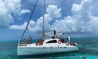 42' Cruising Catamaran to tour Isla Mujeres