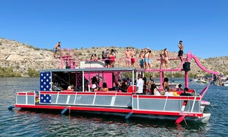 Large Group Party Barge Rentals with Transportation to the Lake!