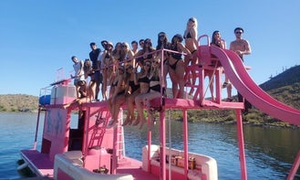 Custom Bachelorette 40ft Party Boat for Rent on Lake Pleasant
