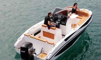 Nireus CL 620 Powerboat in Torroella de Montgrí - Rent with License