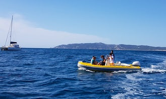 Gommonautica 500 Inflatable Boat in Torroella de Montgrí - Rent with or without license!