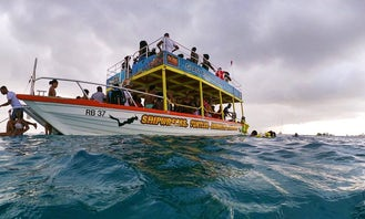 Snorkel Tours and Cruises on 39' Glass Bottom Boat in Barbados