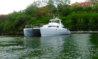Charter a 57' Power Play Power Catamaran in Punta Cana - Accommodate 22 People