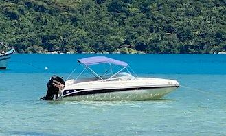 20' Ventura Real Deck Boat Rental in Paraty, Brazil