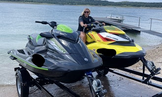 Supercharged Seadoo RXP-X and other skis