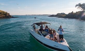 28' Grande Família Motor Yacht Rental in Cabo Frio or Arraial do Cabo, Brazil