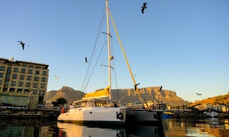 45' Catamaran charter in V&A Waterfront Cape Town