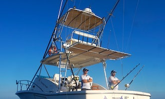 """Fishing Charter on the 33ft """"Mystic boat"""" in Mallorca, Spain"""