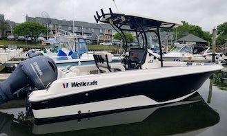 25' Wellcraft Luxury Sports Boat 25' in Belmar New Jersey