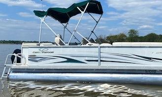 Crest Pontoon Boat Rental in Dynamic Downtown Toledo, Ohio