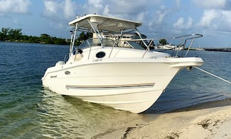 Fun in the beach with 24' Wellcraft Coastal Powerboat