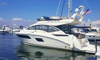 2019 Sea Ray Motor Yacht 45' Charter for 12 People in Rumson, NJ