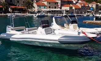 Hire Marlin 790 Dynamic RIB for 12 Person in Trogir, Croatia!