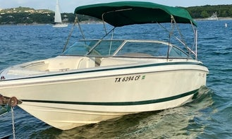 Frank's Boats on Lake Travis - 21 ft Cobalt with toys and awesome stereo. Have a BLAST on the Lake!!!