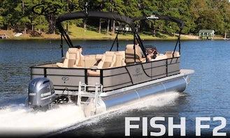 New Pontoon for Rent on Lake Lanier