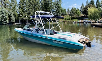 Boat Rental with a Captain on Lake Coeur d'Alene