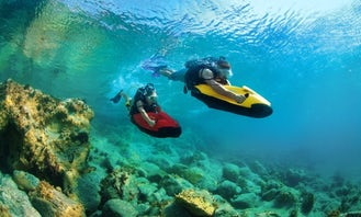 Seabob for rent in Dalmatia - Come and be part of the adventure!