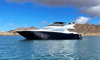 85' Sunseeker Luxury Yacht in Marina Del Rey, CA