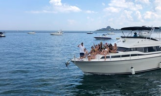 Charter a 42' Luxury Mediterranean Yacht for 10 guests w/ Captain in Chicago