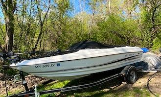 18' Larson SEI Ski And Fishing Boat Rental In Lakeville, Minnesota