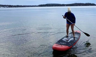 Inflatable Stand Up Paddle Board for rent in Burlington