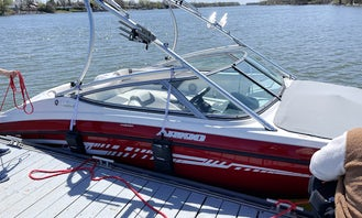 A Fancy 190 Yamaha Wakeboat Rental in Montreal! Everything Included!