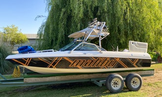 Malibu Wakesetter VLX 21ft Watersports Boat in the Delta!