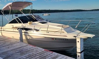 Sea Ray Sundancer 26ft Cabin Cruiser Rental in Lake Geneva