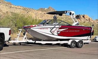 Nautique G23 Wakesurf boat with insane sound system - Saguaro Lake Arizona