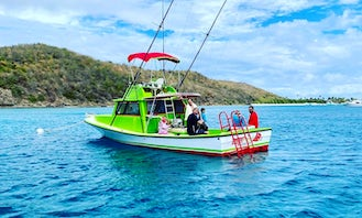 VIP Private Snorkeling, Scuba Diving and Dinner Cruises for up to 6 passengers in Fajardo!
