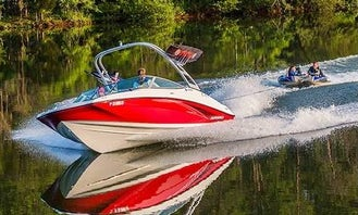 Rent This Awesome 19ft Yamaha AR190 Perfect for Wakeboarding, Tubing or Skiing on Lake Washington