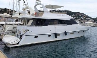 Exceptional Trawler Edership 60 20m for Charter in Spain
