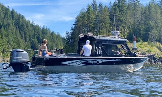 Adventure Tours, Leisure Cruise, Sport Fishing Charter with Captain in Vancouver BC