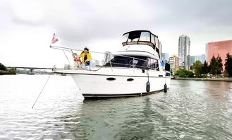 38ft Luxury Motor Yacht for charter in Vancouver