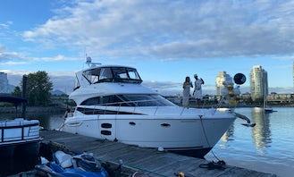 🛥 Luxury Yacht Rental Meridian in Downtown Vancouver 🇨🇦
