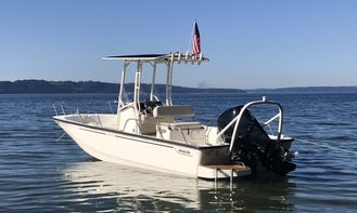 21' Boston Whaler for rent in Tacoma