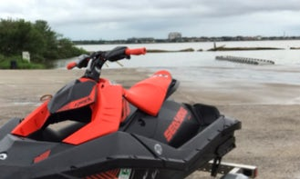 Sea-Doo Spark TRIXX for rent on Clear Lake