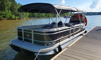 Cruise, Swim, Party and Enjoy on a Brand New 2021 Tritoon on Lake Norman!