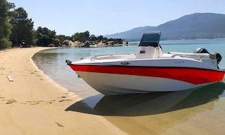 15' Iris Compass 150 in Kolimbari, Chania area, Greece