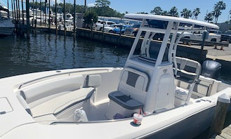 Captained Center Console Charter in Destin