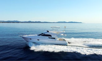 Charter 38' Garin Fly Motor Yacht in Balears, Spain