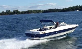 Bayliner Powerboat for Rent in Columbus Ohio ( Alum Creek Lake )