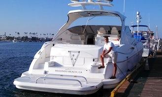 Gorgeous 58' Cruisers Yacht Luxury Charter in Redondo Beach