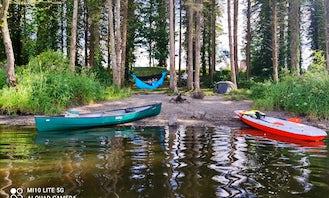 Canadian canoe  bik kayak