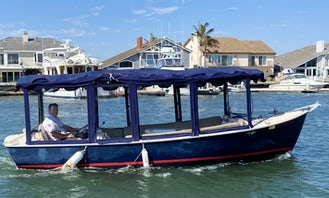 Duffy 21' Electric Boat Cruise in Huntington Harbor up to 10 guests