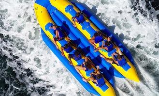 Custom Banana Bus Inflatable Watersports Tow Lake Tour