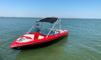 Moomba LSV 22ft Wake Surfing and Wakeboarding in Rockwall Texas!