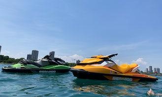 SeaDoo Jetskis for Rental on Lake Michigan or Fox River