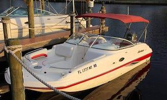⭐️ 21' Hurricane Deck Boat 150HP - SD217 Dual Console Model (Anna Maria Island) *Insurance Included*